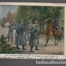 Coleccionismo Cromos antiguos: CROMO DE CHOCOLATES JAIME BOIX PRIMERA GUERRA MUNDIAL, Nº107 PEDIR FALTAS. Lote 31223561