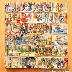 Coleccionismo Cromos antiguos: CINCO SEMANAS EN GLOBO - EDT. ARCHIVO DEL ARTE 1950 - COLECCIÓN A FALTA DE UN CROMO, EL 162. Lote 72096587