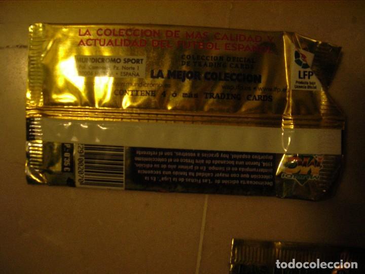 Coleccionismo Cromos antiguos: 15 sobres Las fichas de la Liga 2008 MC - Foto 2 - 72316107
