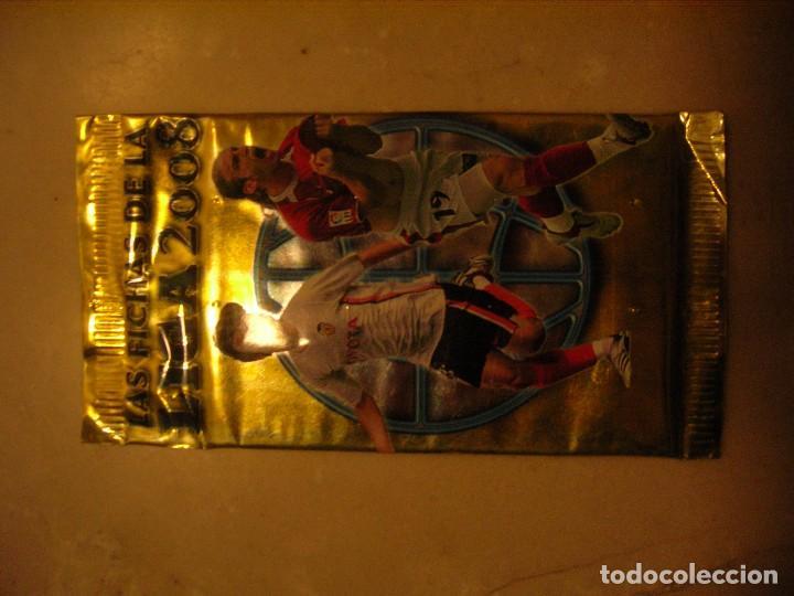Coleccionismo Cromos antiguos: 15 sobres Las fichas de la Liga 2008 MC - Foto 3 - 72316107
