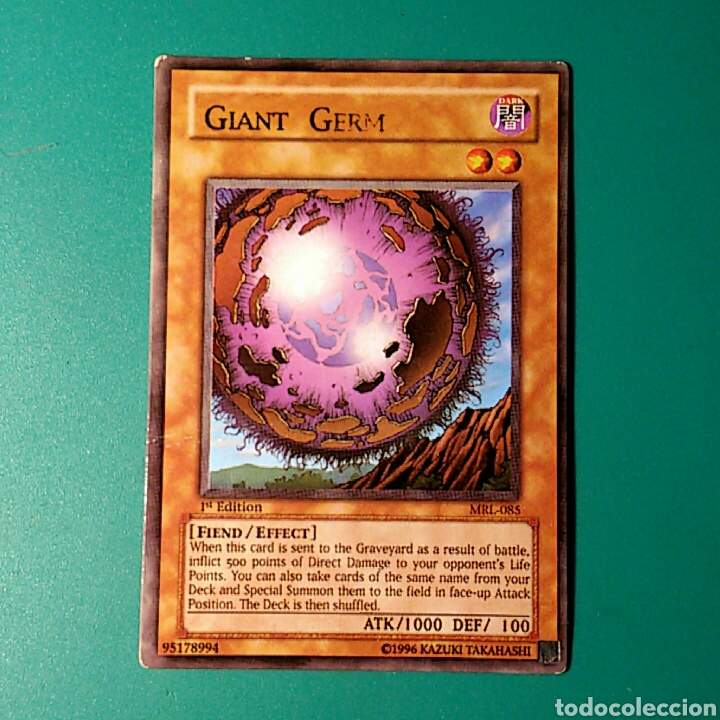 carta yu gi oh! - n°mrl-085 giant germ - Buy Old Stickers at ... 8092a3ef7a4a