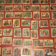 Coleccionismo Cromos antiguos: ANTIGUA COLECCIÓN ALBUM COYOTE *HURACAN SOBRE MONTERREY* EDIT. CASULLERAS - AÑO 1950S.. Lote 73447163