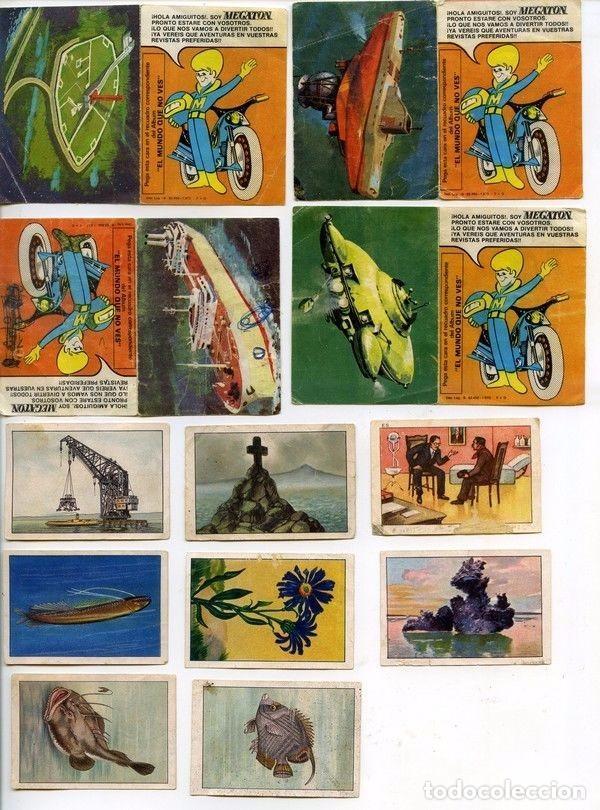 -LOTE DE 92 CROMOS DE CROPAN ,MEGATON , DANONE, MATUTANO, FHER, PANTERA ROSA, ONDINA NESTLE (Coleccionismo - Cromos y Álbumes - Cromos Antiguos)