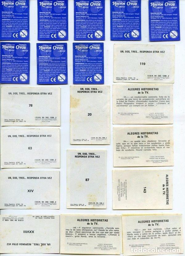 Coleccionismo Cromos antiguos: -LOTE DE 92 CROMOS DE CROPAN ,MEGATON , DANONE, MATUTANO, FHER, PANTERA ROSA, ONDINA NESTLE - Foto 6 - 73805711