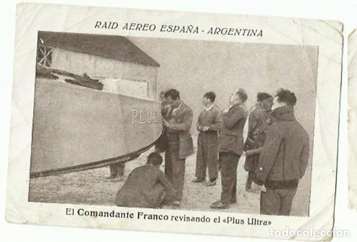 Raid aereo espa a argentina 6 cromos publicida comprar for Mudanzas internacionales de espana a argentina precios