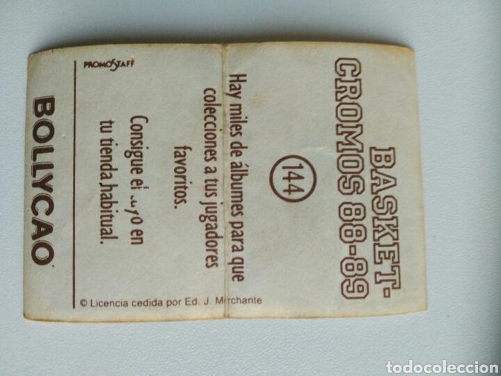 Coleccionismo Cromos antiguos: Cromo basket 88-89 Bollycao - Foto 2 - 76088093