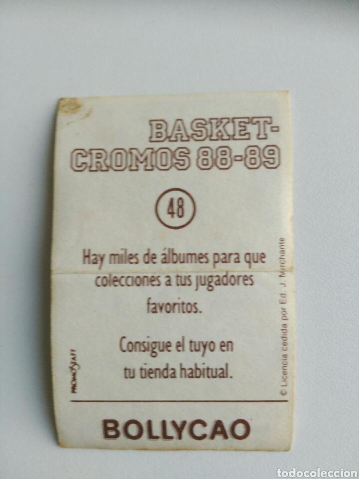 Coleccionismo Cromos antiguos: Cromo basket 88-89 Bollycao n. 48 - Foto 2 - 76088679