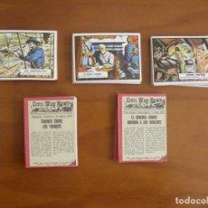 Coleccionismo Cromos antiguos: CROMOS SUELTOS A 5€ LA UNIDAD.-LOTES NEGOCIABLES- CIVIL WAR NEWS .TOPPS IMPRESO EN ESPAÑA 1968. Lote 78014757
