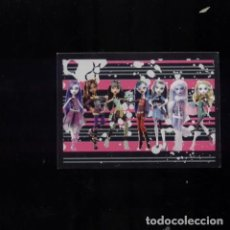 Coleccionismo Cromos antiguos: MONSTER HIGH 2012 Nº 186. Lote 79793661