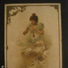 Coleccionismo Cromos antiguos: CROMO PUBLICIDAD FARMACIA - PRODUCTOS DEFRESNE -FIN SIGLO XIX-VER FOTOS(V-9921). Lote 80483777