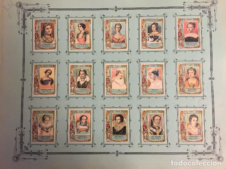 Coleccionismo Cromos antiguos: COLECCIÓN COMPLETA 75 FOTOTIPIAS SERIE 21 DE MUJERES CÉLEBRES. - Foto 4 - 80778974