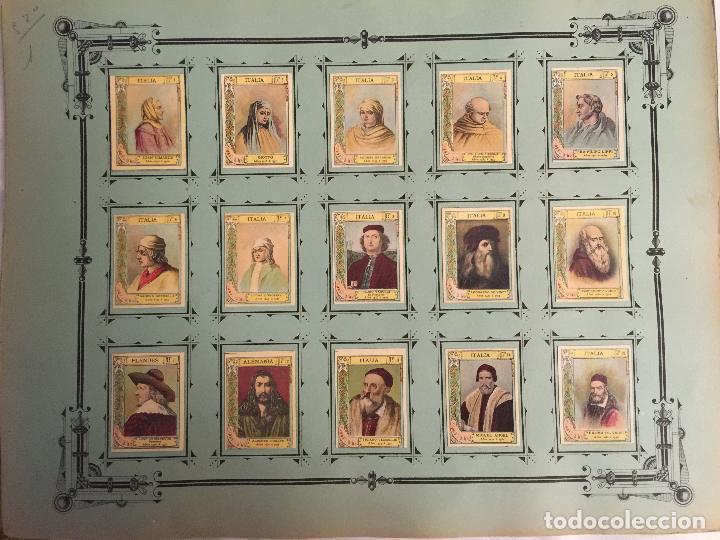 COLECCIÓN COMPLETA 75 FOTOTIPIAS SERIE 21 DE MUJERES CÉLEBRES. (Coleccionismo - Cromos y Álbumes - Cromos Antiguos)