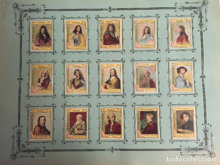 Coleccionismo Cromos antiguos: COLECCIÓN COMPLETA 75 FOTOTIPIAS SERIE 21 DE MUJERES CÉLEBRES. - Foto 2 - 80779086