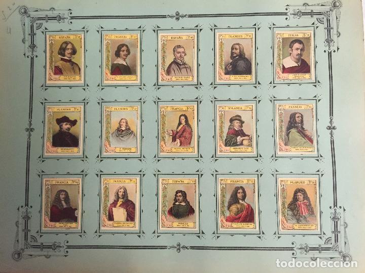 Coleccionismo Cromos antiguos: COLECCIÓN COMPLETA 75 FOTOTIPIAS SERIE 21 DE MUJERES CÉLEBRES. - Foto 3 - 80779086