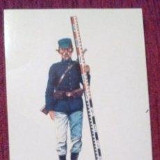 Coleccionismo Cromos antiguos: CROMO EJÉRCITO ESPAÑOL OBRERO DE SEGUNDA SOLDADO 1918 AUXILIAR DE TOPOGRAFÍA- SIN MAS DATOS. Lote 80881547