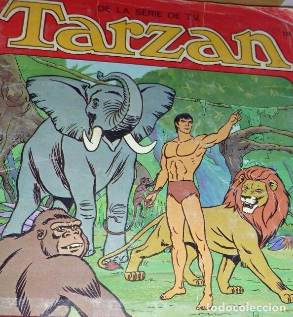 LOTE 3 CROMO CROMOS ALBUM TARZAN PANRICO. LEER (Coleccionismo - Cromos y Álbumes - Cromos Antiguos)