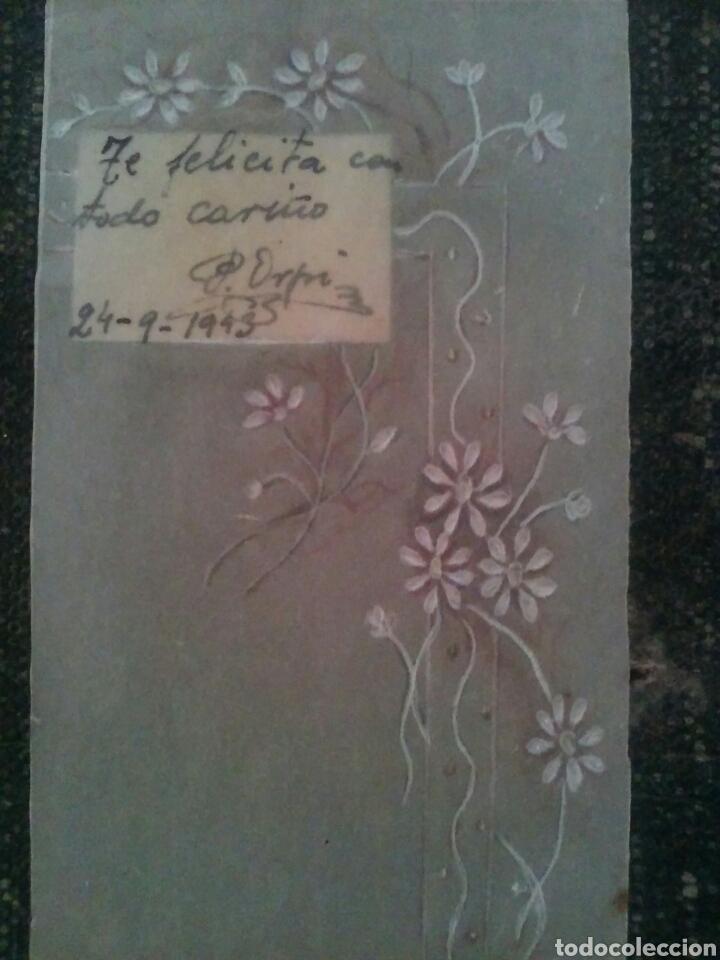 Coleccionismo Cromos antiguos: ANTIGUO CROMO relieve EN PAPEL PAPIRO año 1913 - Foto 5 - 83686228
