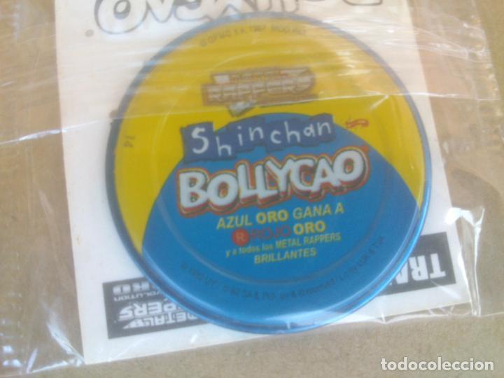 Coleccionismo Cromos antiguos: TAZOS bollycao metal rappers shinchan - Foto 5 - 220920068