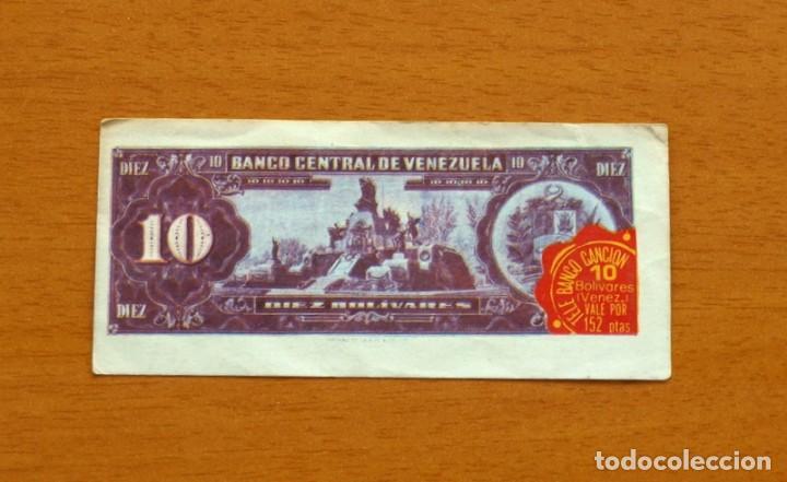 Coleccionismo Cromos antiguos: Tele Banco Canción - Cromo, 10 Diez Bolivares, Venezuela - Nunca pegado - Foto 2 - 84202996