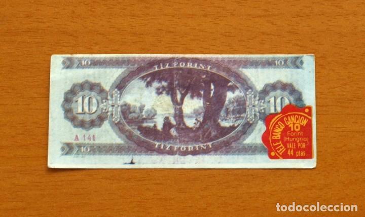 Coleccionismo Cromos antiguos: Tele Banco Canción - Cromo, 10 Diez Forint, Hungria - Nunca pegado - Foto 2 - 84203976