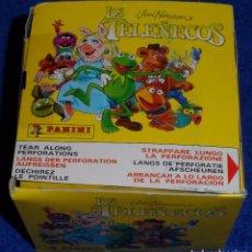 Coleccionismo Cromos antiguos: LOS TELEÑECOS - CAJA CON 50 SOBRES - PANINI (1995). Lote 84272056