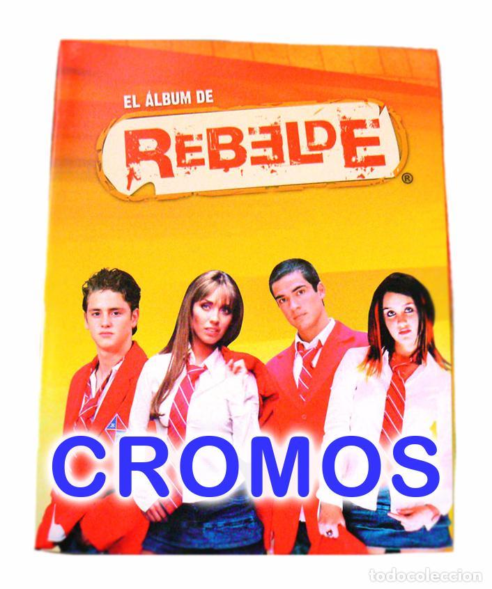 LOTE 44 CROMOS REBELDE SERIE TV PANINI 2005 TAMBIEN SUELTOS (Coleccionismo - Cromos y Álbumes - Cromos Antiguos)
