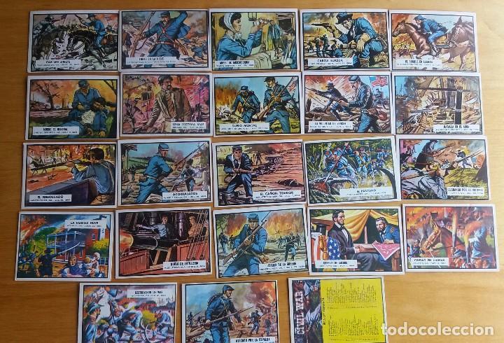 Coleccionismo Cromos antiguos: CROMOS CIVIL WAR - Foto 2 - 84919124