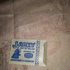 Coleccionismo Cromos antiguos: SOBRE CON 3 CROMOS JACKY EL OSO. Lote 85671883