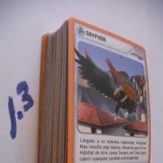 Coleccionismo Cromos antiguos: GRAN LOTE CARTAS INVIZIMALS - ENVIO INCLUIDO A ESPAÑA. Lote 86353200