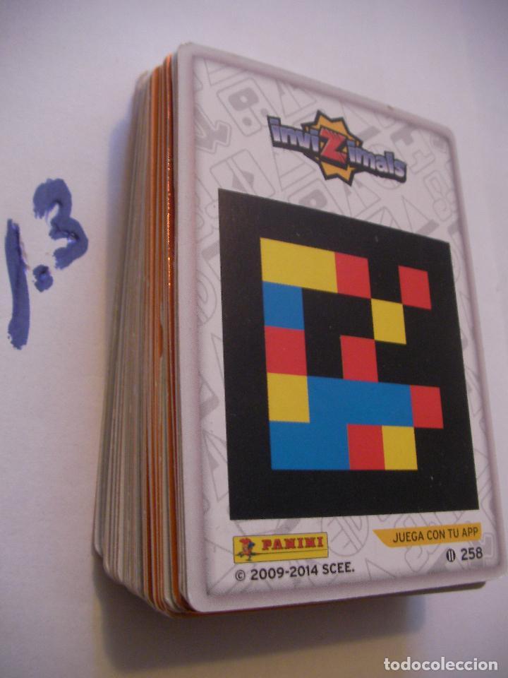 Coleccionismo Cromos antiguos: GRAN LOTE CARTAS INVIZIMALS - ENVIO INCLUIDO A ESPAÑA - Foto 2 - 86353200
