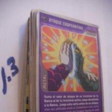Coleccionismo Cromos antiguos: GRAN LOTE CARTAS INVIZIMALS - ENVIO INCLUIDO A ESPAÑA. Lote 86353308
