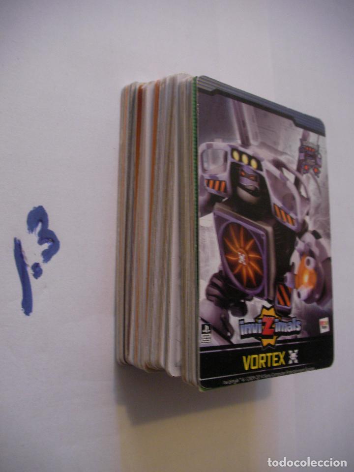 GRAN LOTE CARTAS INVIZIMALS - ENVIO INCLUIDO A ESPAÑA (Coleccionismo - Cromos y Álbumes - Cromos Antiguos)
