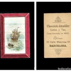 Coleccionismo Cromos antiguos: CROMO CHOCOLATE AMATLLER.. Lote 86362504