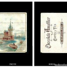 Coleccionismo Cromos antiguos: CROMO CHOCOLATE AMATLLER.. Lote 86363648
