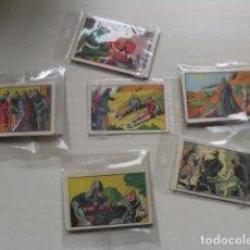Coleccionismo Cromos antiguos: GRAN LOTE DE CROMOS DE EL GUERRERO DEL ANTIFAZ. Lote 87086300