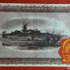 Coleccionismo Cromos antiguos: BILLETE TELE BANCO CANCION 10 CORONAS. Lote 87124198