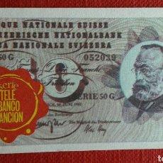 Coleccionismo Cromos antiguos: BILLETE TELE BANCO CANCION 10 FRANCOS. Lote 87124711