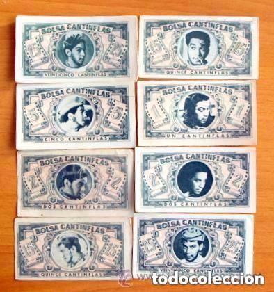 Coleccionismo Cromos antiguos: Bolsa Cantinflas, El detective - Editorial Senda 1946 - Lote de 85 cromos diferentes - Foto 2 - 87165236