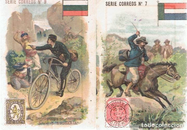 Coleccionismo Cromos antiguos: LOTE 15 CROMOS DE CHOCOLATE COMET FIGUERAS - Foto 2 - 87704036