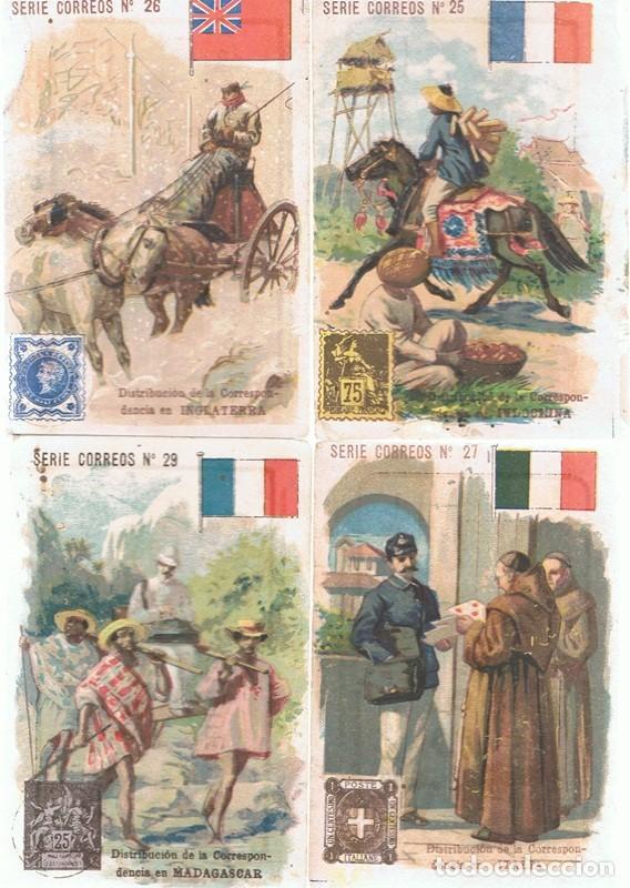 Coleccionismo Cromos antiguos: LOTE 15 CROMOS DE CHOCOLATE COMET FIGUERAS - Foto 3 - 87704036