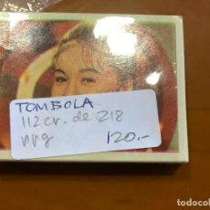Coleccionismo Cromos antiguos: TOMBOLA 105 CROMOS NUEVOS SE PUEDE LLEGAR A VENDER SUELTOS. Lote 87694308