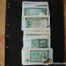 Coleccionismo Cromos antiguos: LOTE DE BILLETES DEL MUNDO,FAC SIMIL,COLECCION TELE BANCO POP,SUELTOS A 0,20 € CADA UNO . Lote 88895992