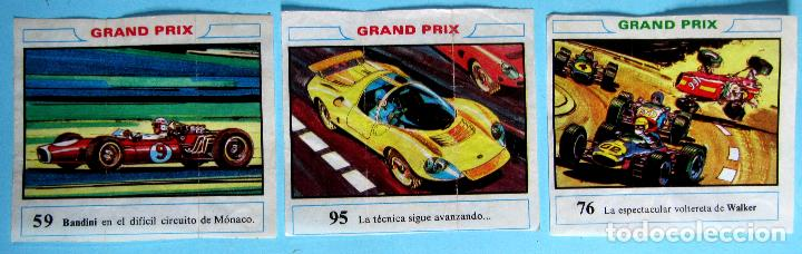 Coleccionismo Cromos antiguos: LOTE DE CROMOS. CROMOS SUELTOS; 2,00 €. GRAND PRIX. DUNKIRAMA, DUNKIN, GALLINA BLANCA, 1968. - Foto 15 - 74859563