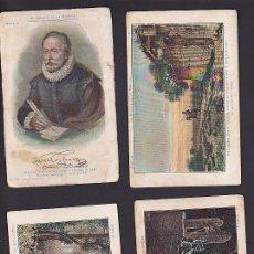 Coleccionismo Cromos antiguos: COLECCION COMPLETA DON QUIJOTE DE LA MANCHA CHOCOLATES AMATLLER . Lote 89579372