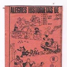 Coleccionismo Cromos antiguos: SOBRE DE CROMOS ALEGRES HISTORIETAS DE SIN ABRIR ANTIGUO. Lote 89752660