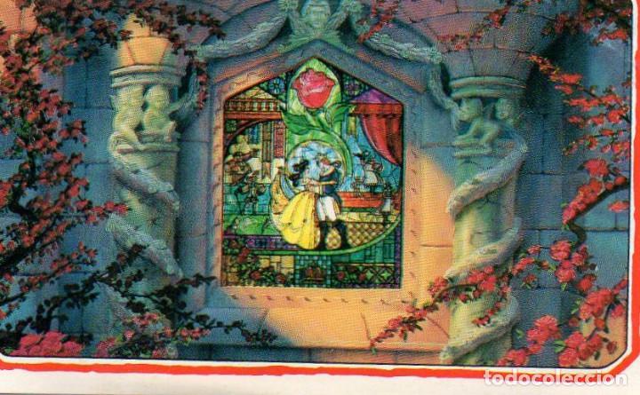 CROMO Nº 231 LA BELLA Y LA BESTIA (PANINI). DISNEY DIBUJOS (Coleccionismo - Cromos y Álbumes - Cromos Antiguos)