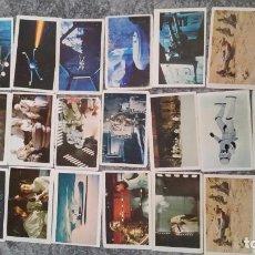 Coleccionismo Cromos antiguos: LOTE CROMOS STAR WARS VINTAGE 1977. Lote 90404129
