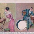 Coleccionismo Cromos antiguos: PRONOSTICO DE LAS FASES DEL ASTRO LUNAR - SERIE 1 - 18 - PUBLICIDAD BESOY PARA DOLOR DE CABEZA. Lote 90611440