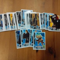 Coleccionismo Cromos antiguos: 50 CROMOS TOPPS FORCE ATTAX - STAR WARS - CARREFOUR. Lote 91005225