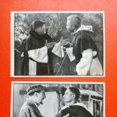 Coleccionismo Cromos antiguos: FRAY ESCOBA - CHOCOLATES GREFER - 2 CROMOS SUELTOS. Lote 91339990